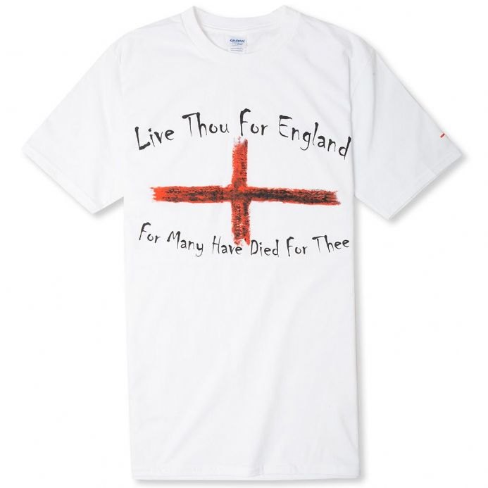 English England T-shirt - Black